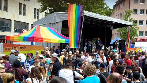 Oberbürgermeister Maly am CSD 2015